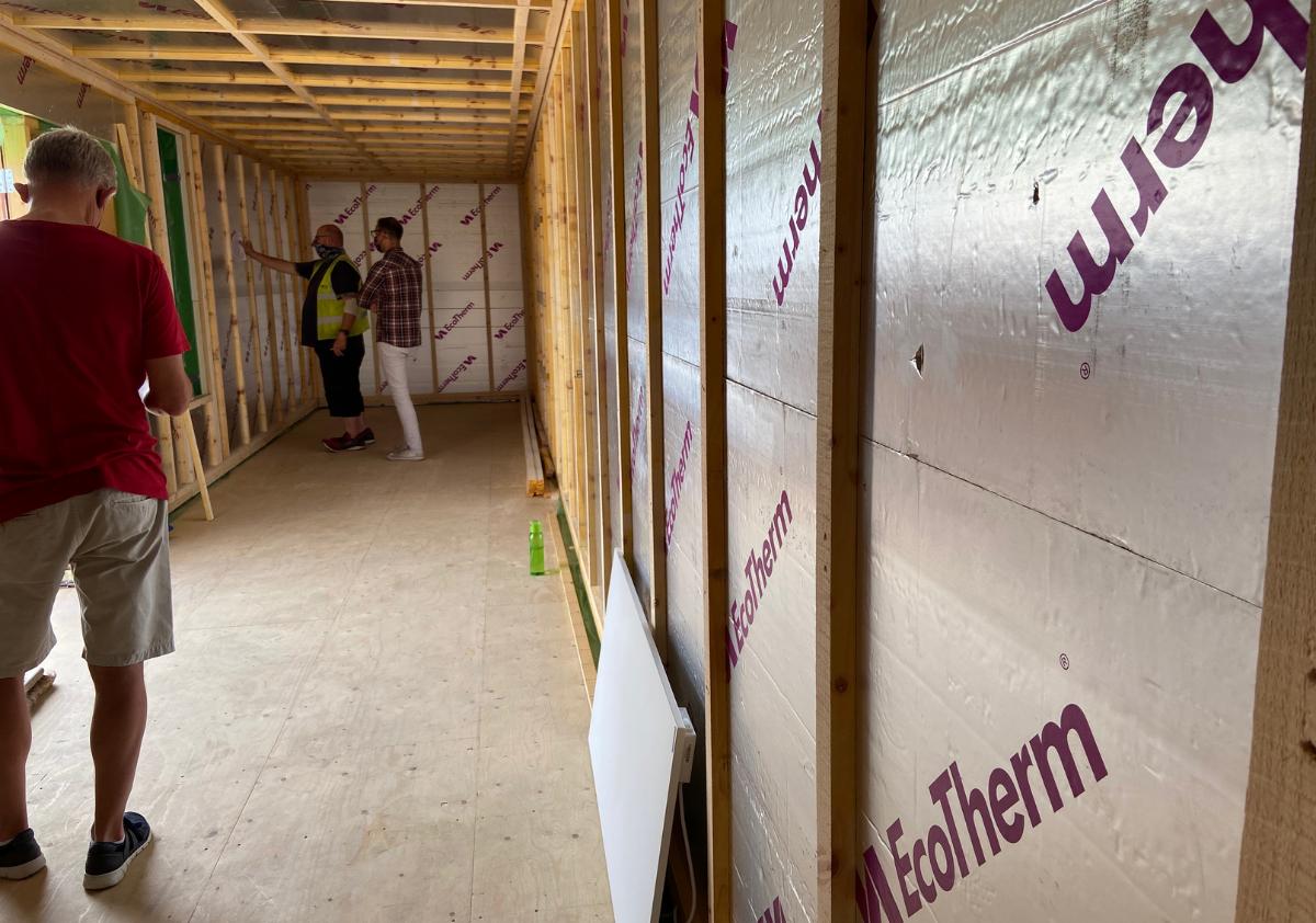 Jacks Alt-Stays Alternative Eco-Cabin Build Progress