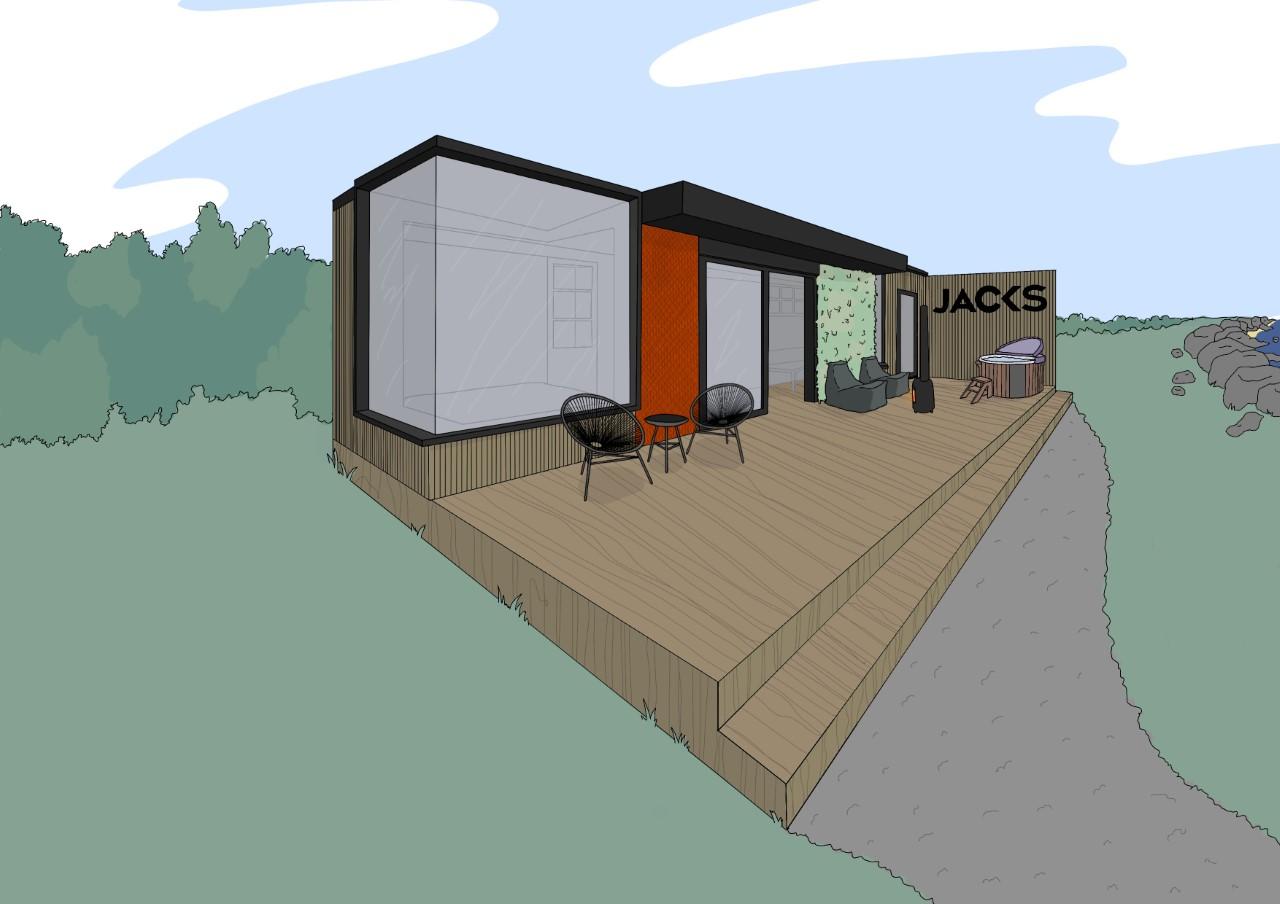 Jacks Alt-Stays Alternative Eco Cabin Concept