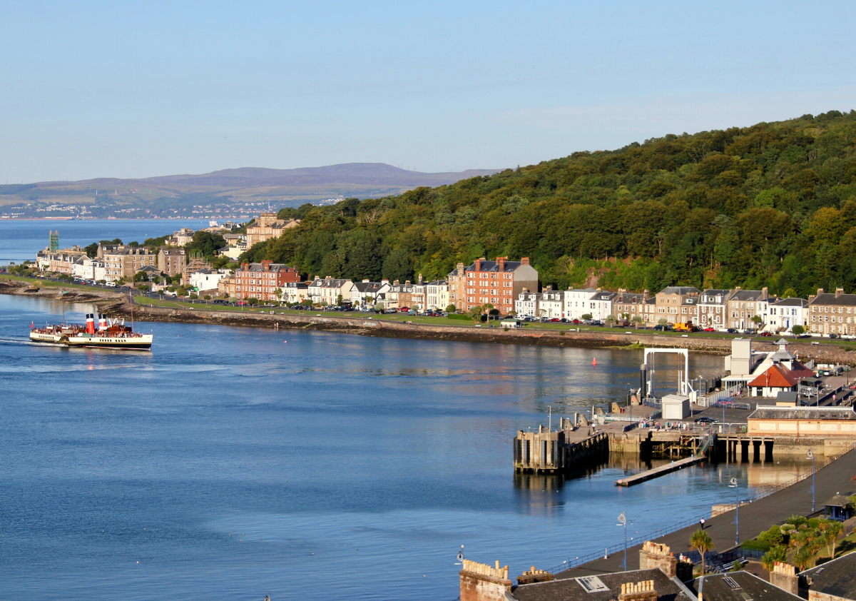 Rothesay - Accessible Island in Scotland