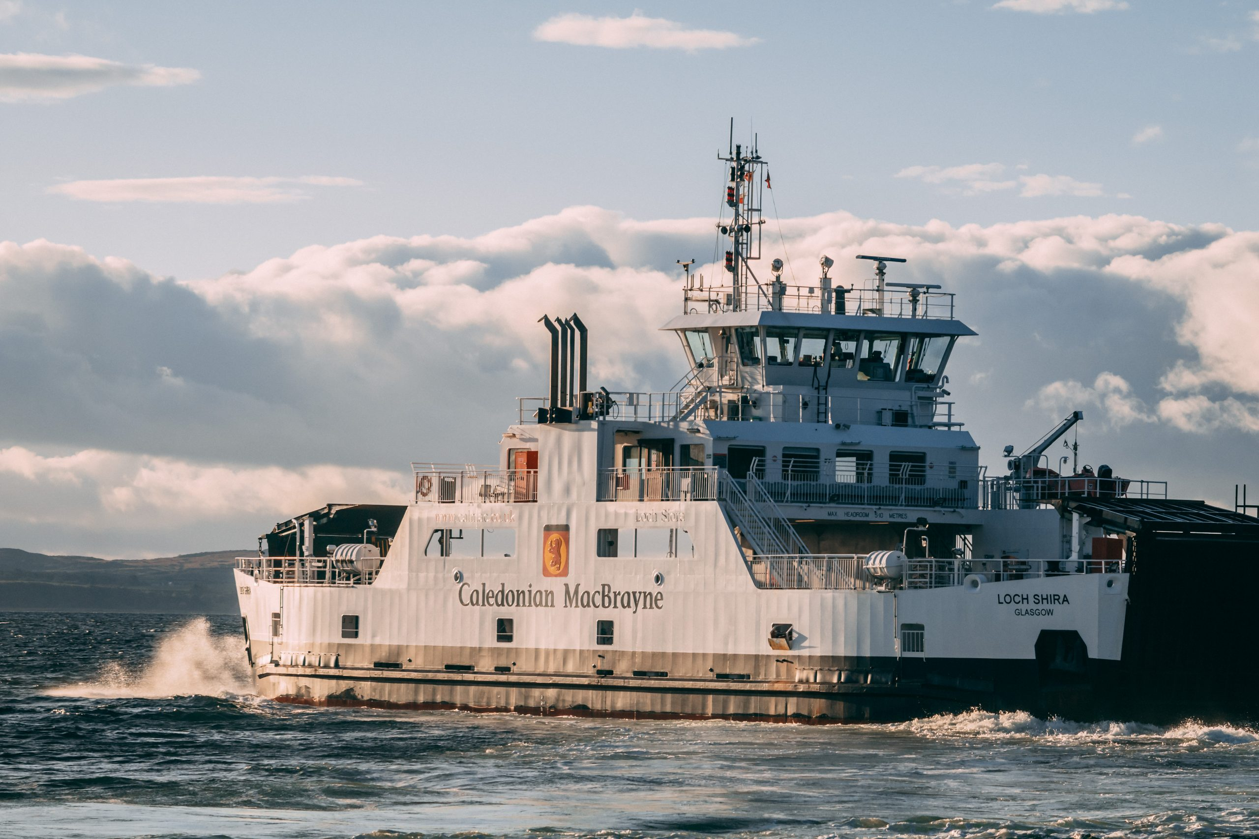 Cal Mac Millport Ferry to Scotland's most Accessible Island