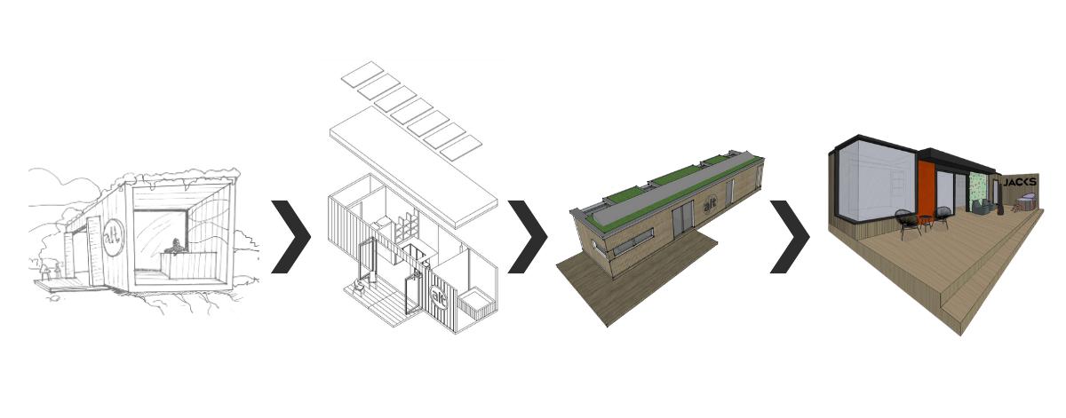 Jacks Alt-Stays Alternative Eco Cabin Concept Evolution