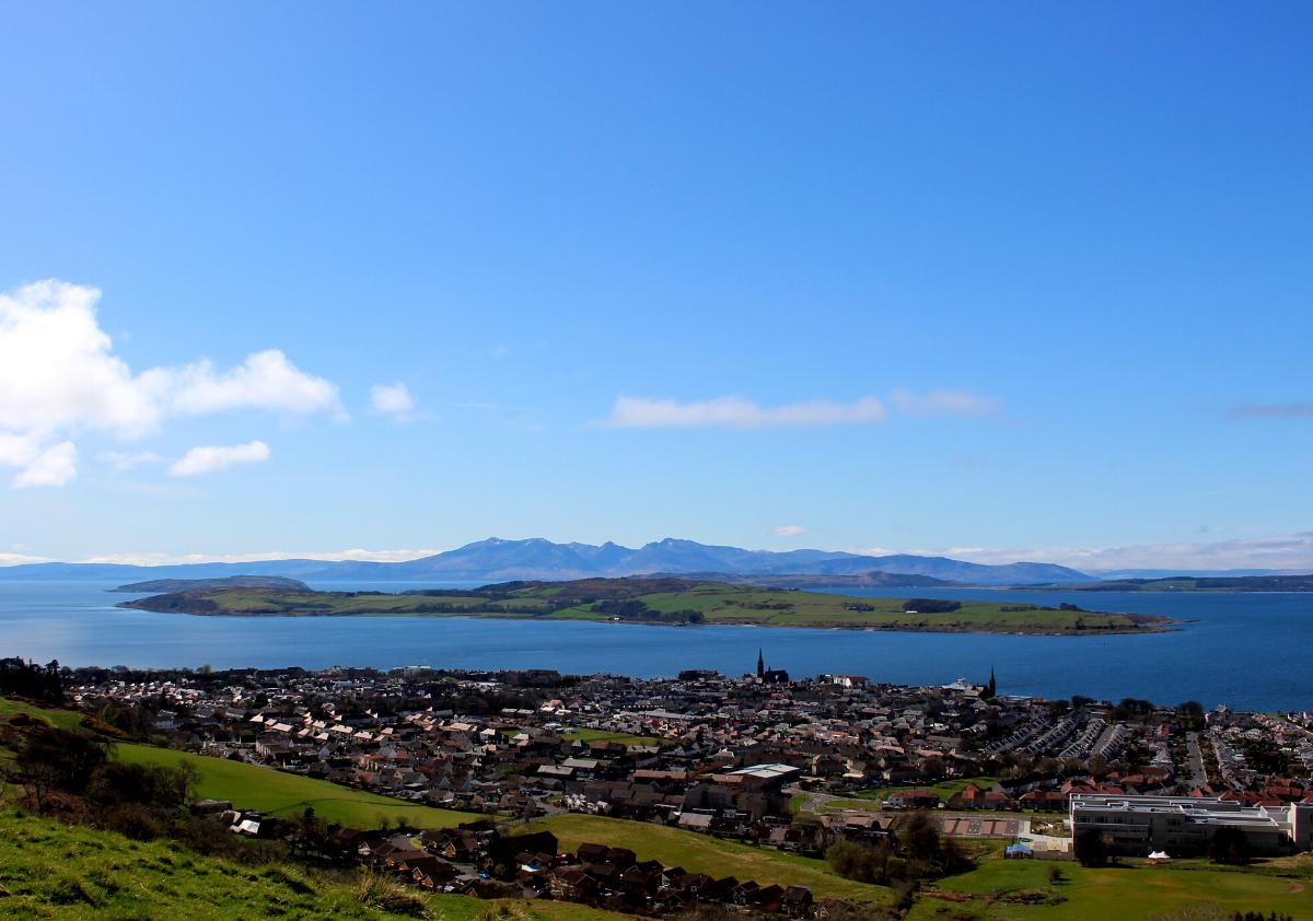 Isle of Cumbrae - Scotland's most Accessible Island