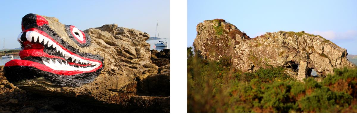 Lion Rock Crocodile Rock on Cumbrae - Scotland's most Accessible Island
