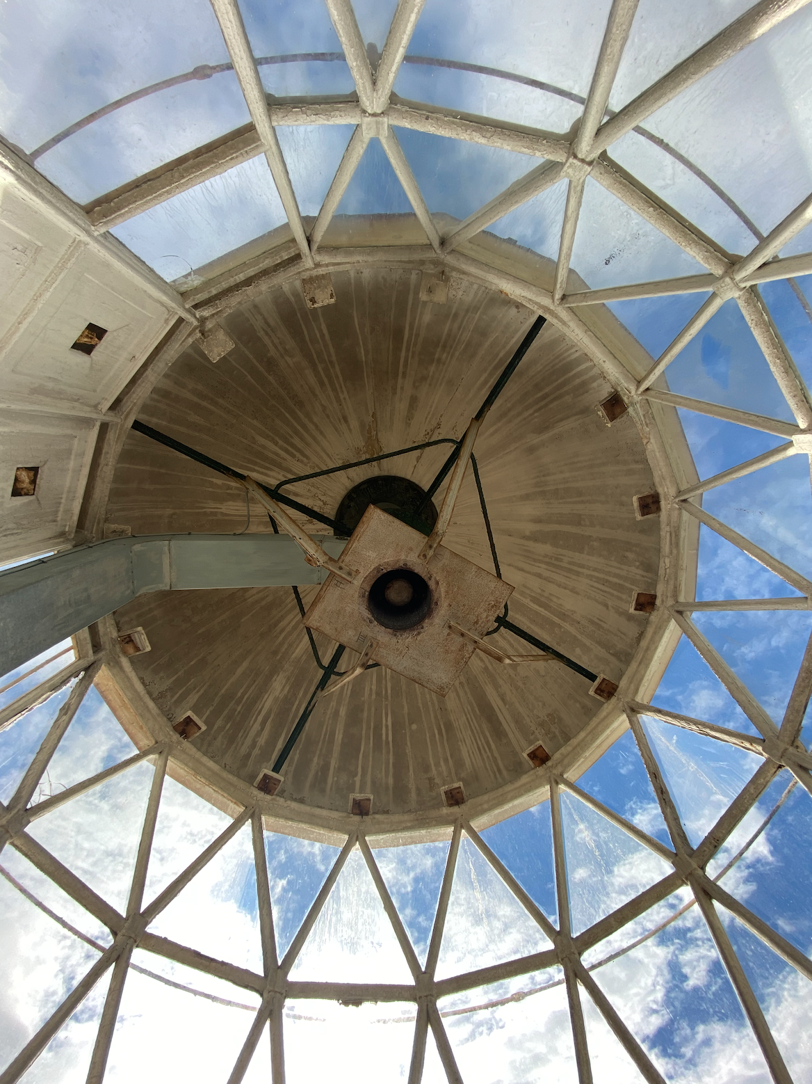 Wee Cumbrae Lighthouse Roof