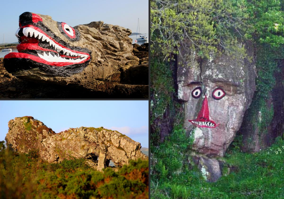 Indian Rock Lion Rock Crocodile Rock Millport