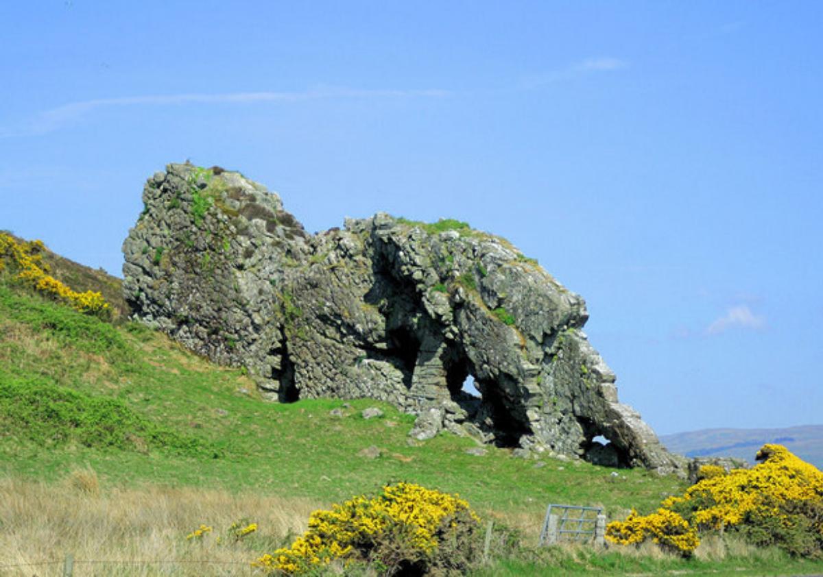 Lion Rock, Millport, Isle of Cumbrae