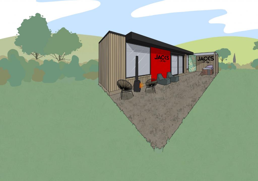 Jack's Alt-Stays Alternative Eco-Cabin