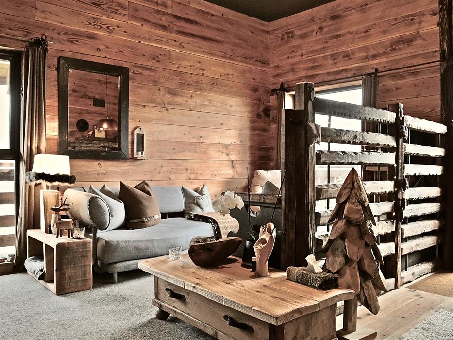 Wooden Cabin Interior