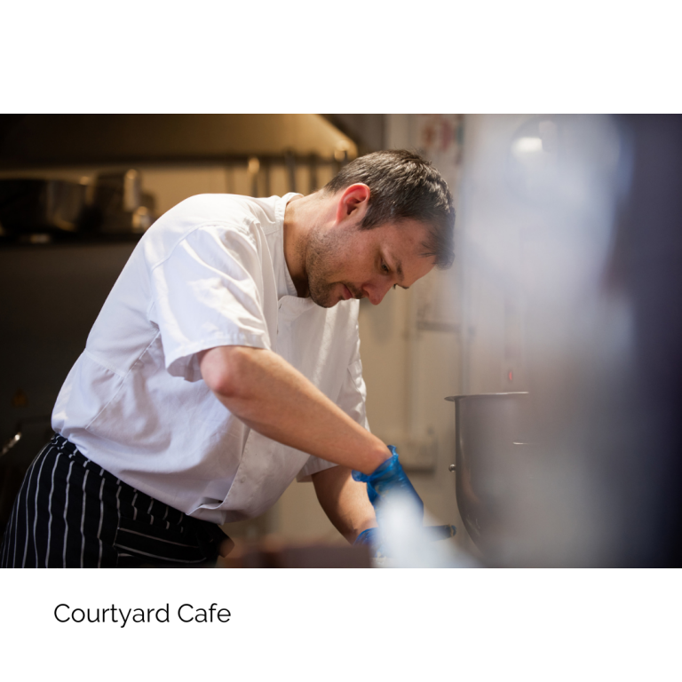 Courtyard Cafe Bute
