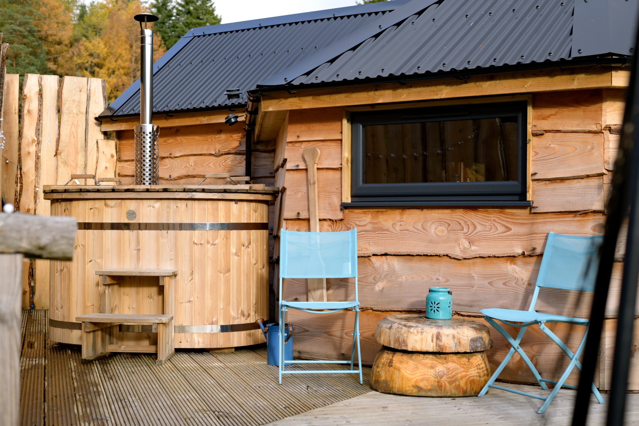 The Wee Bee Hive Hot Tub
