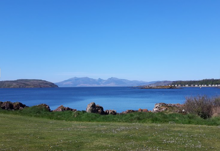 Millport Guest House View