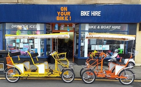 On Your Bike Millport Bicycle Hire
