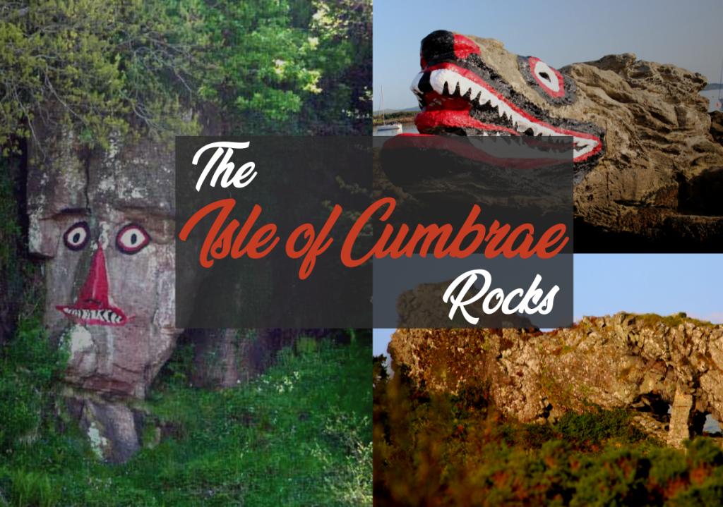 Crocodile Indian Lion Rock Millport Cumbrae