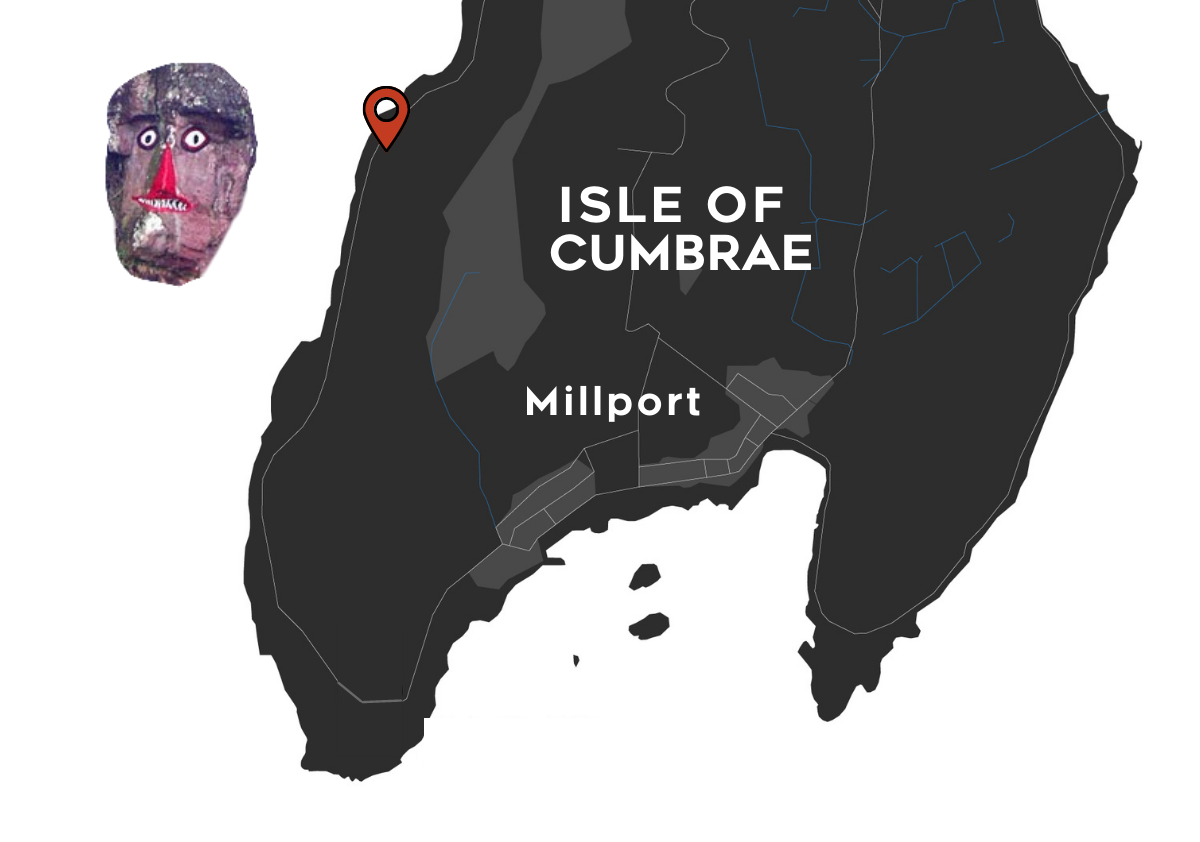 Indian Rock Location Millport
