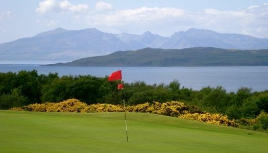 Millport Golf Club View