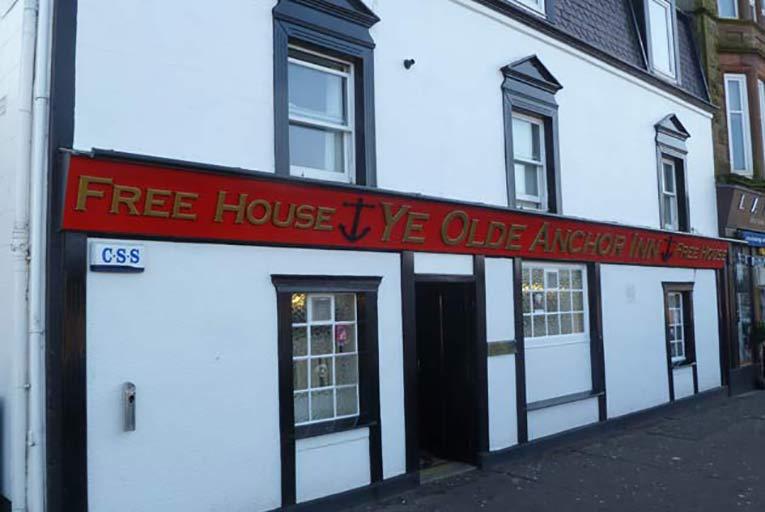 Ye Olde Anchor Inn Largs