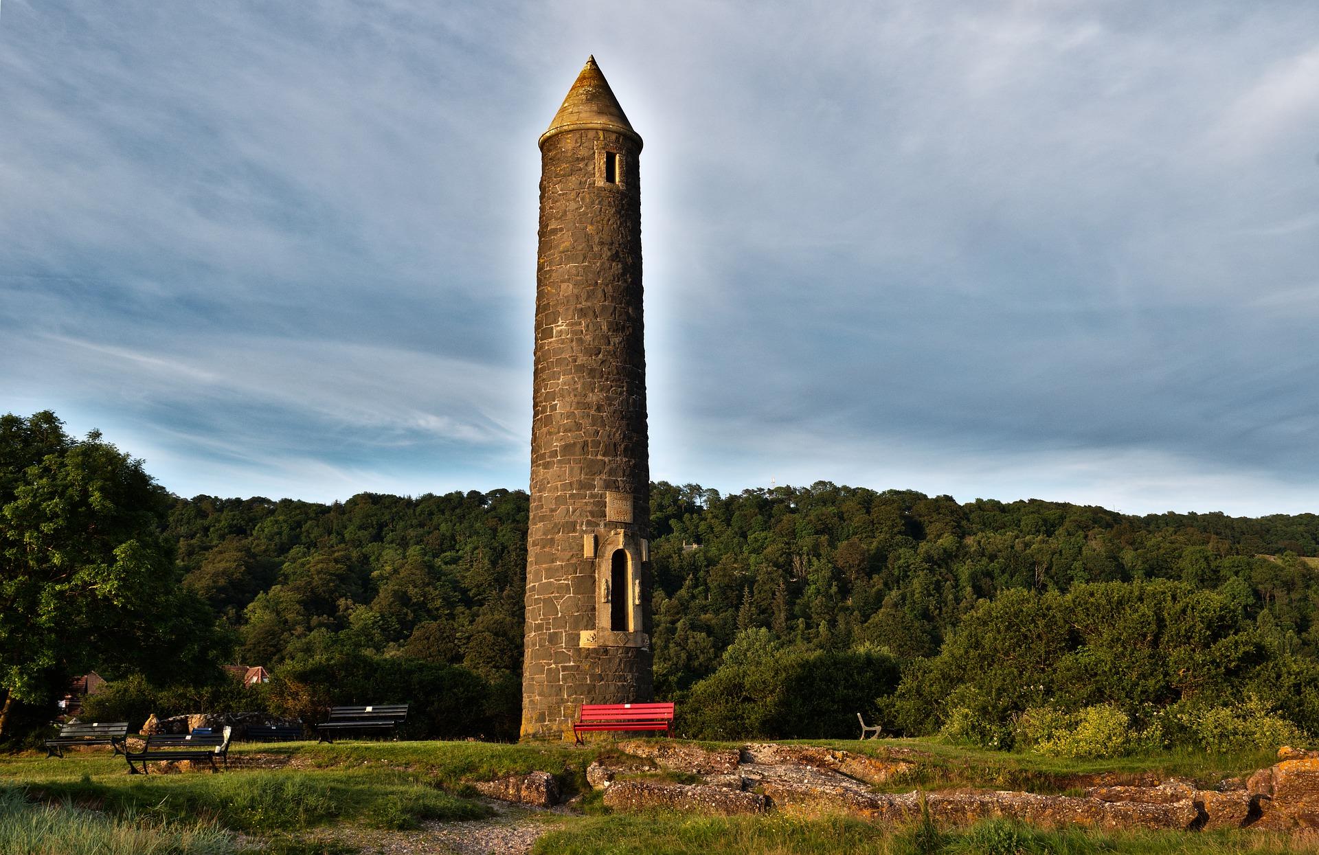 Largs Pencil Monument