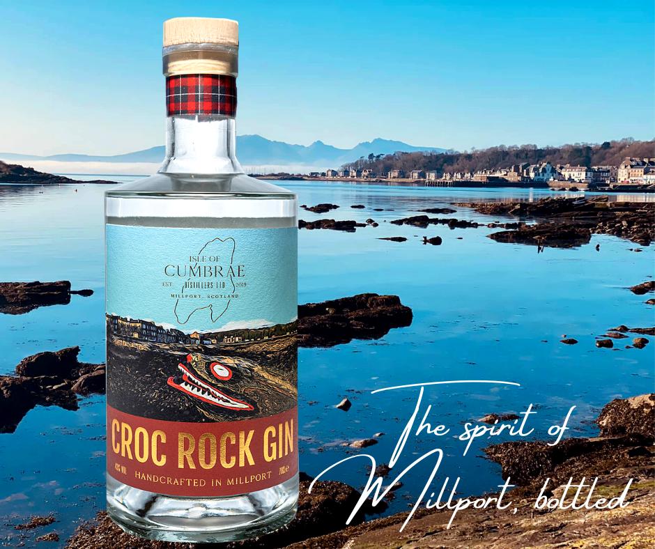 Isle of Cumbrae Distillers, Croc Rock Gin